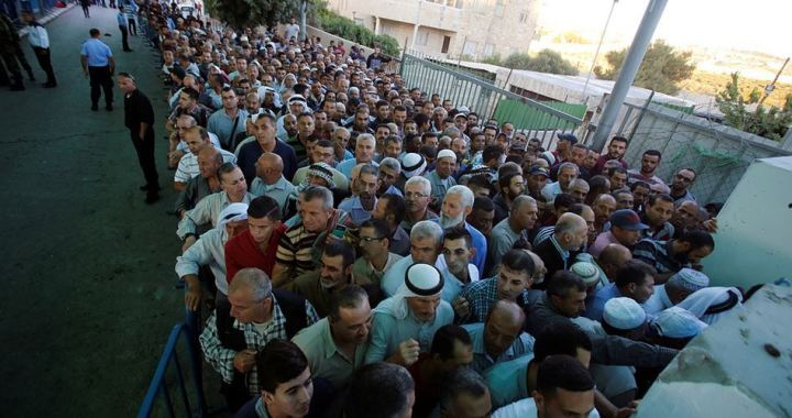 Worshipers stopped on way to Al Aqsa