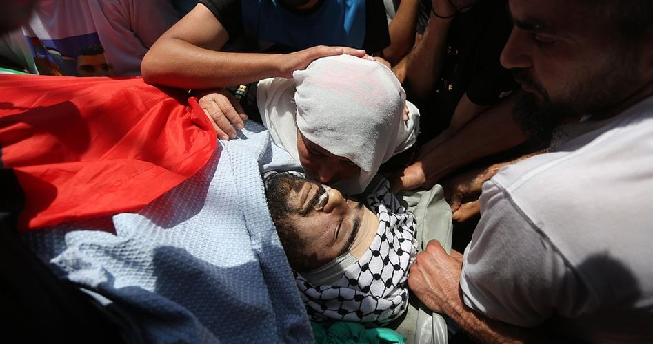 15 Palestinians killed and 1400 injured