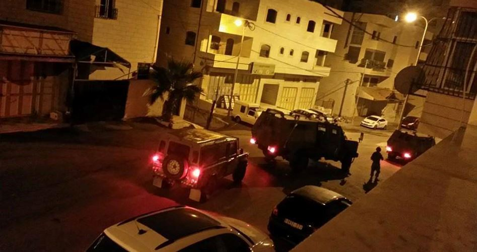 17 Palestinians kidnapped WB