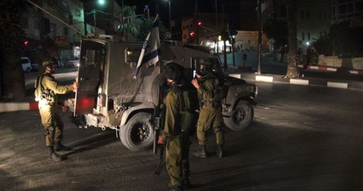 21 Palestinians arrested WB
