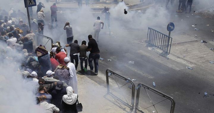 25 Palestinians injured Jerusalem