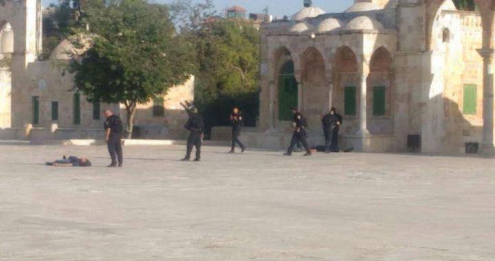 3 Palestinians killed al-Aqsa