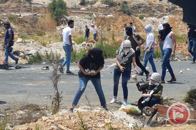 4 Palestinians injured Ramallah