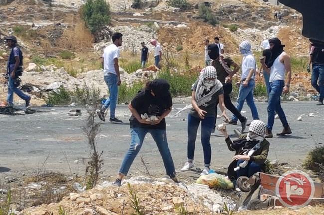 4 Palestinians injured Ramallah