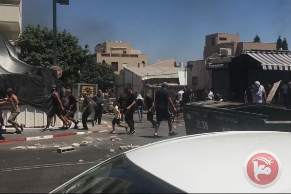 5 Palestinians arrested Jaffa