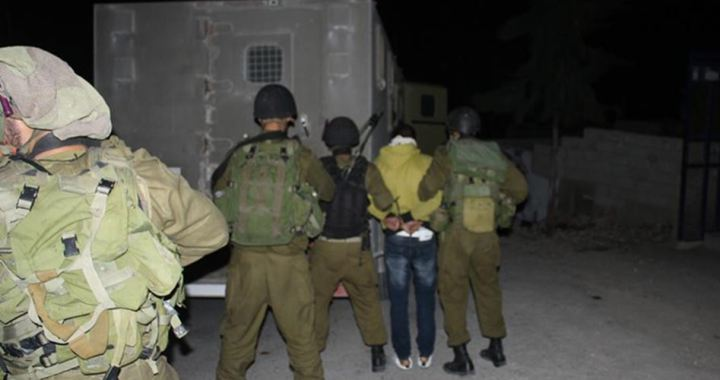 8 Palestinians kidnapped Nablus and Jenin