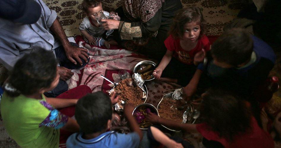 80000 families blocked Gaza