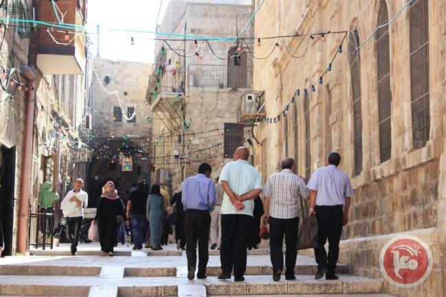 Al-Aqsa after praying