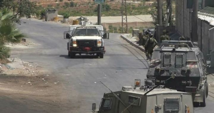 Al-Shiekh chased bij IOF