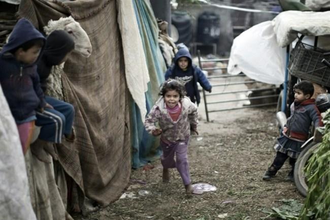 Children in Gaza Strip