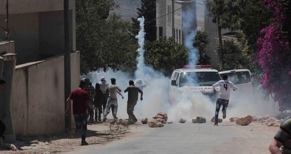 Clashes near Al-Aqsa