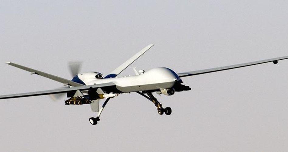 Drone above Gaza