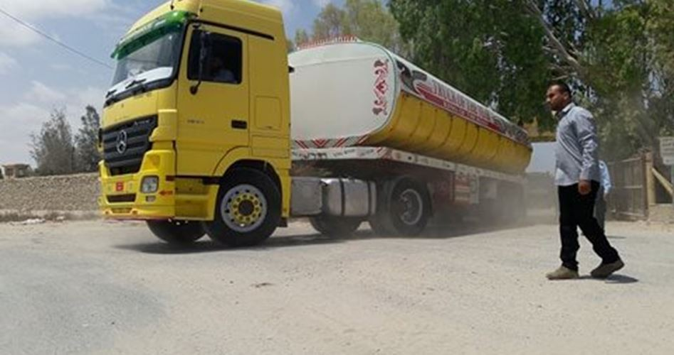 Fuel Egypt stopped delivery