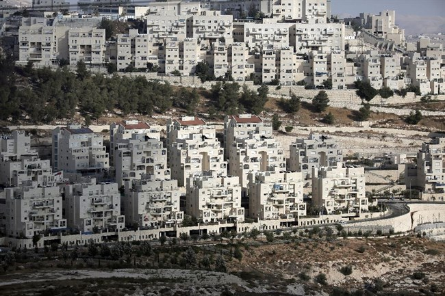 Har Homa in East Jerusalem