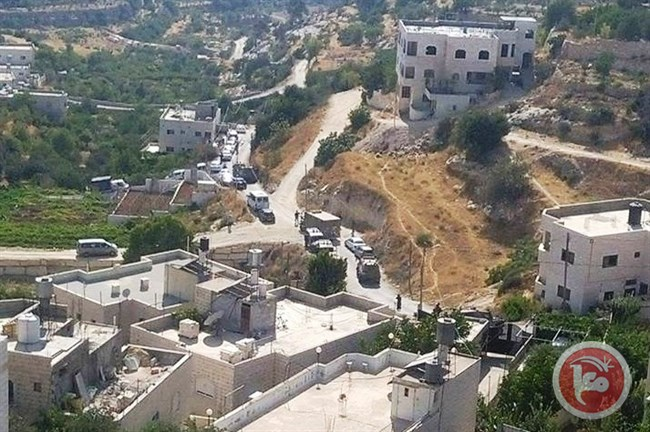 Home Palistinian raided