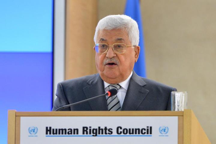 M Abbas in Geneve
