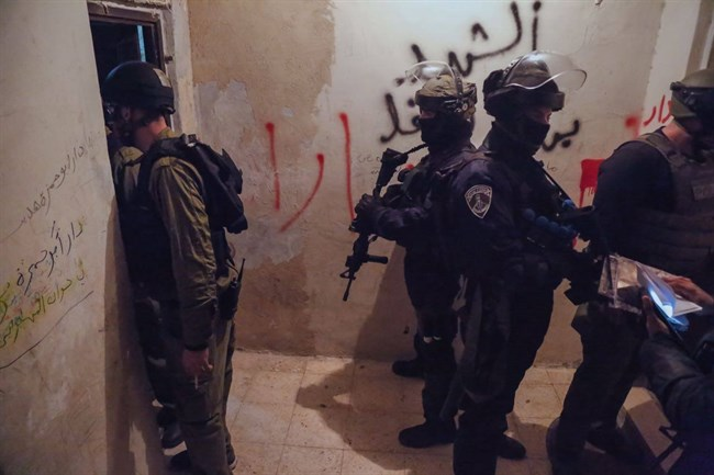 Overnight raids WB 6 detained 1 killed