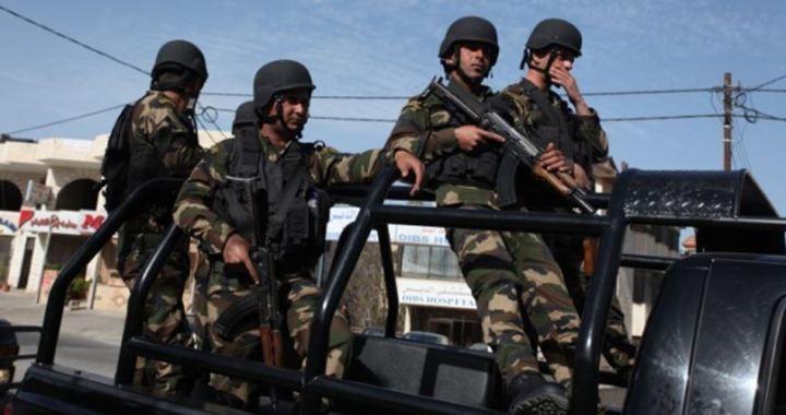 PA security forces Ramallah