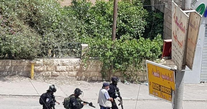 Palestinian arrested Anata