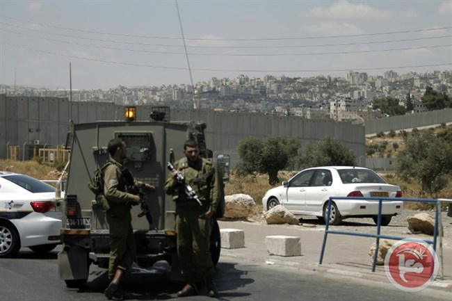 Palestinian injured zio's opened fire