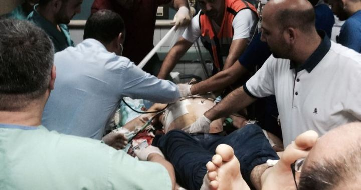 Palestinian killed 67 injured