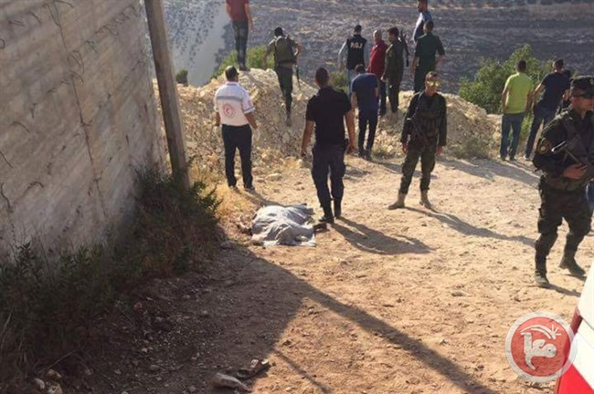 Palestinian killed Hebron1