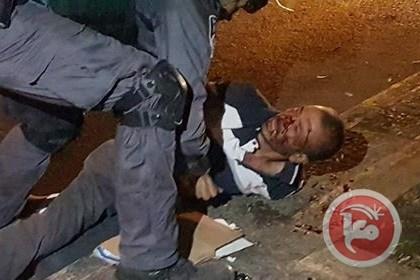 Palestinian man assaulted