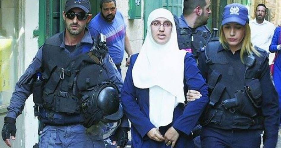 Palestinian woman and daughter detained