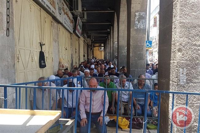 Police at Al Aqsa1