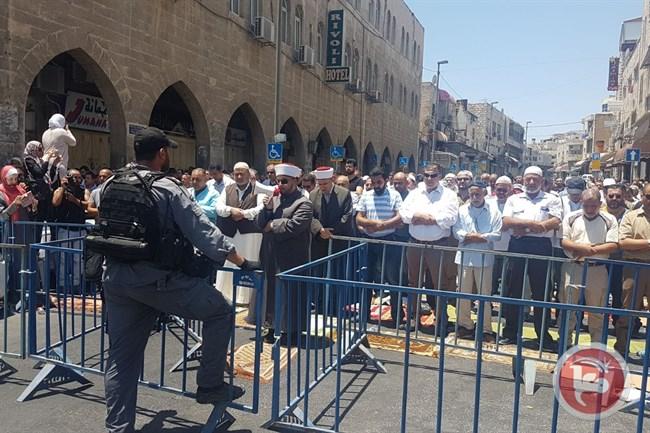 Police at Al Aqsa2