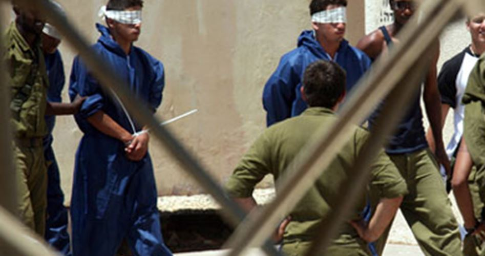 Prisoners in Negev jail