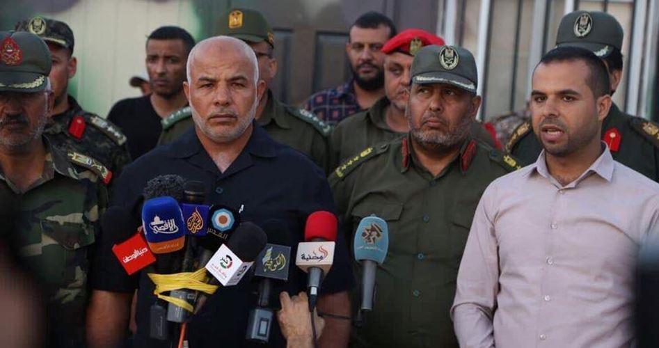 Security Forces Gaza border Egypt