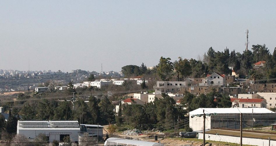 Theft of Palestinian private land