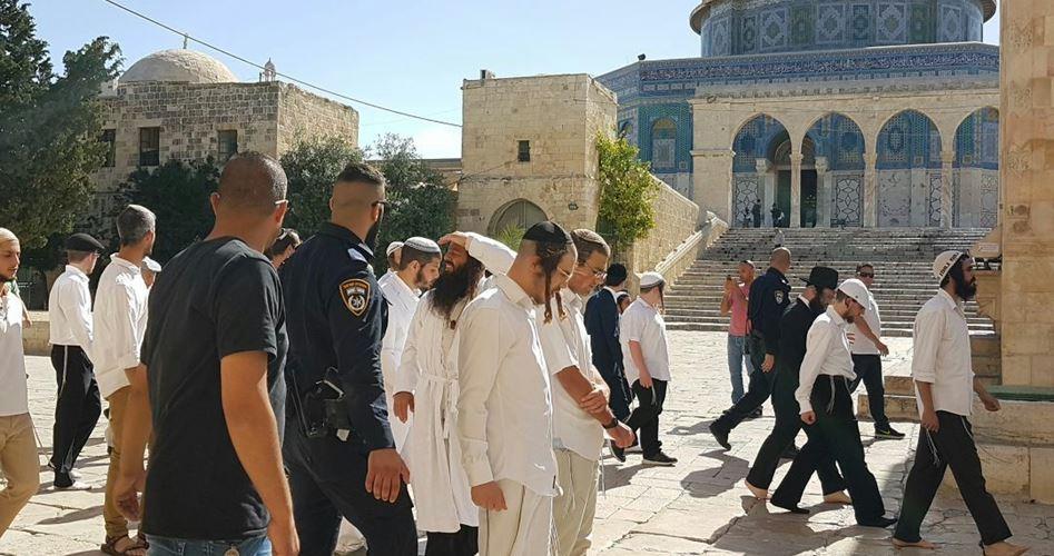 Zio's stormed al-Aqsa