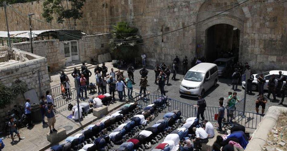 72 Pal's arrested involved al-Aqsa protests