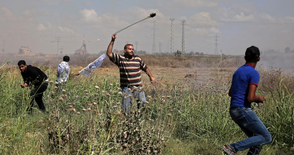 Clashes Gazastrip