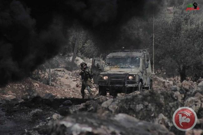 Clashes weekly march Kafr Qaddum