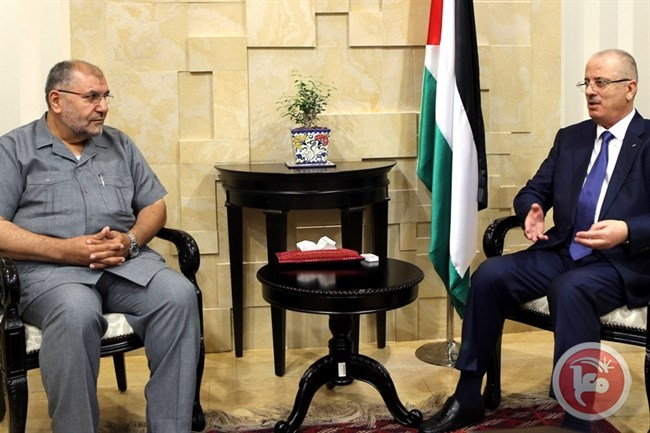 Hamdallah meets MP Hamas1