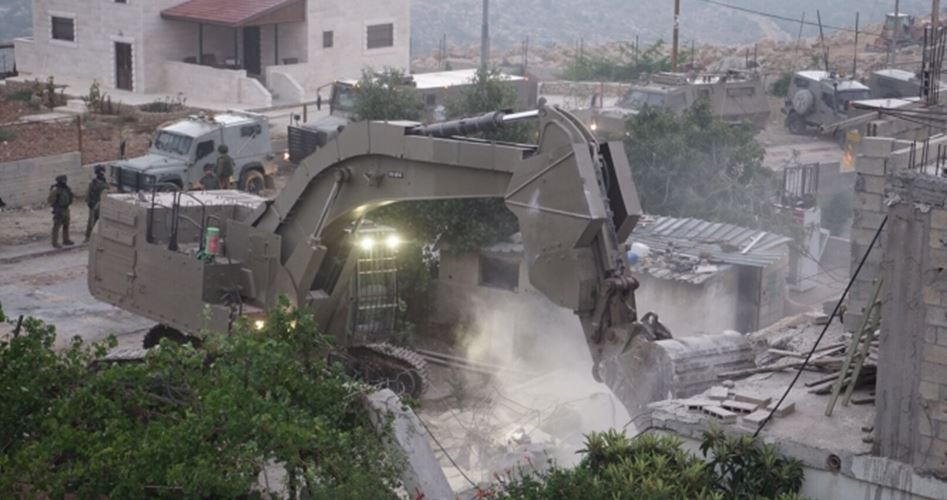 Home demolished family al-Abed