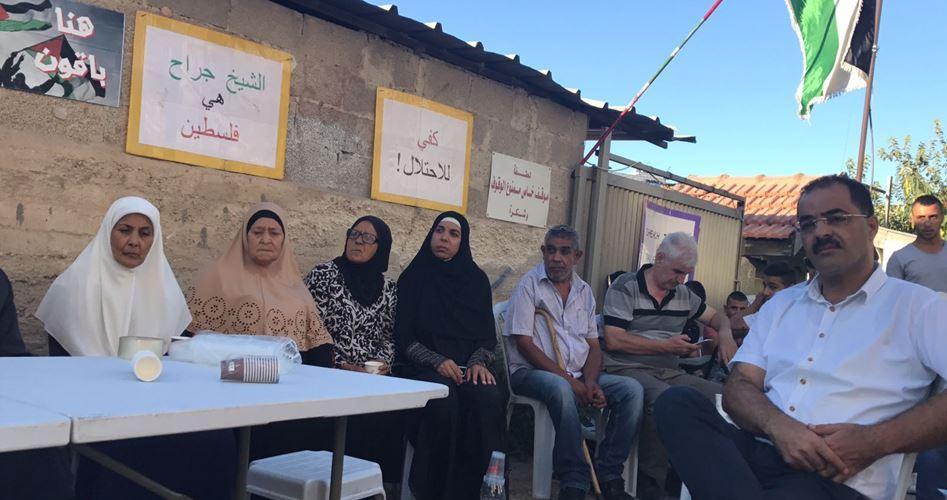 Home-demolition order Shamasnah family