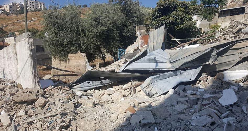House Abu Asainah demolished