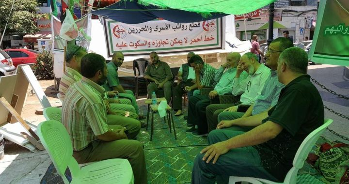 Hunger strike ex-detainees