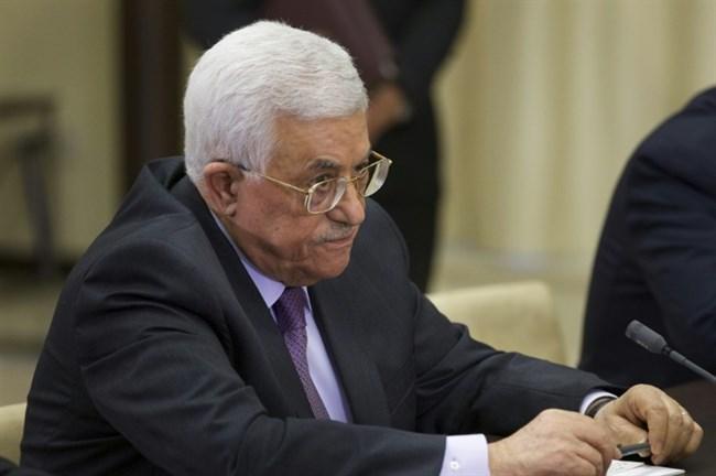 Mahmoud Abbas and Trump