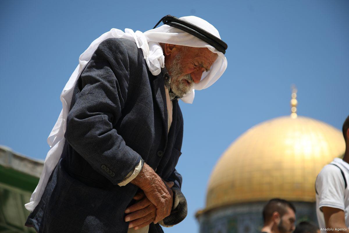 Pal worshipper al-Aqsa