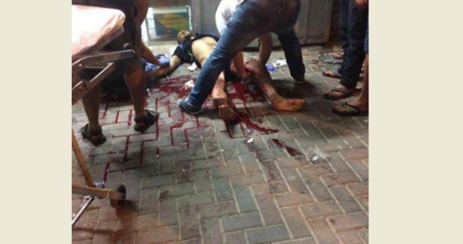 Palestinian found injured