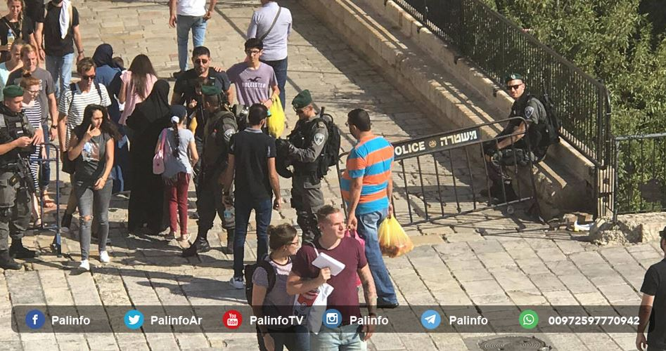 Pals banned entering al-Aqsa