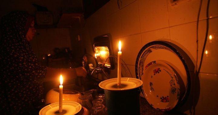 Power cutback Gaza