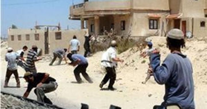 Settlers zio's atack al-Khalil