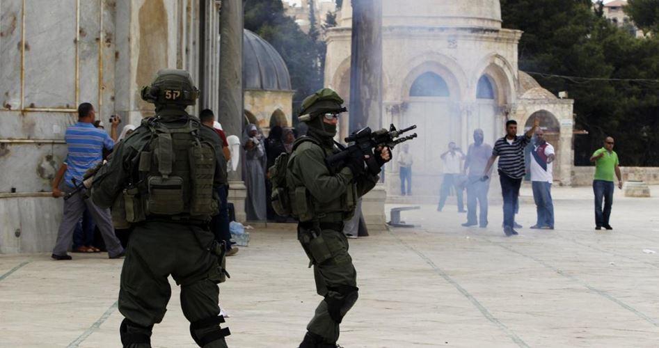 Settlers zios stormed al-Aqsa