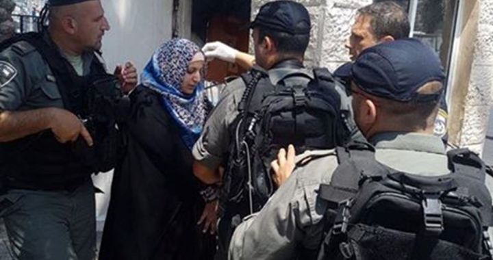 Woman detained Jerusalem